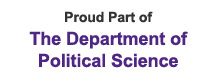 Proud Part of The Department of Political Science